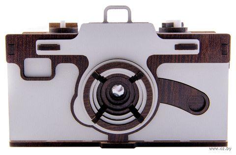 """Сборная деревянная модель """"Фотокамера Pinhole"""" — фото, картинка"""