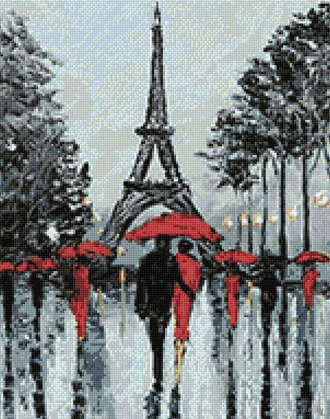 "Алмазная вышивка-мозаика ""Парижские аллеи"" (380х480 мм) — фото, картинка"