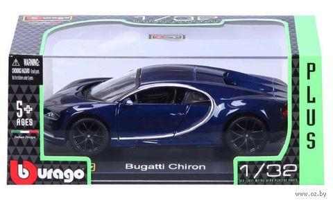 "Модель машины ""Bburago. Bugatti Chiron"" (масштаб: 1/32) — фото, картинка"