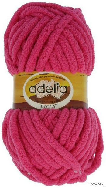 "Пряжа ""Adelia. Dolly №25"" (100 г; 40 м; ярко-розовый) — фото, картинка"