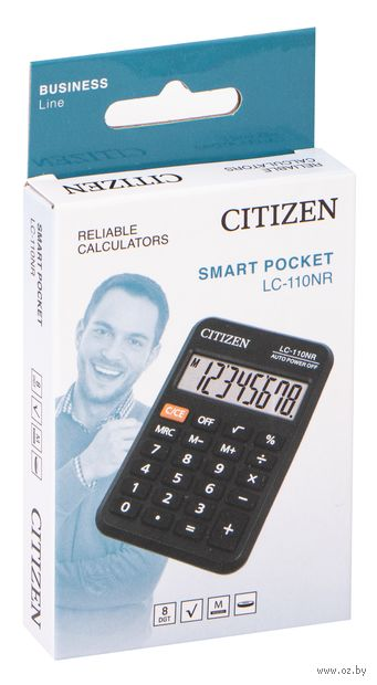 Калькулятор карманный LC-110NR (8 разрядов) — фото, картинка