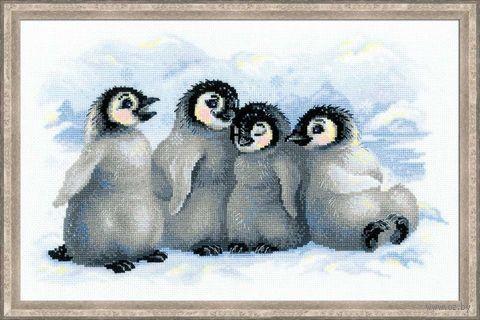 """Вышивка крестом """"Забавные пингвины"""" (арт. 1323)"""