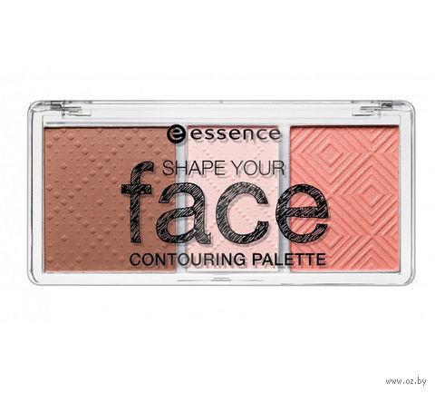 """Палетка для скульптурирования лица """"Shape your face"""" (тон: 10)"""