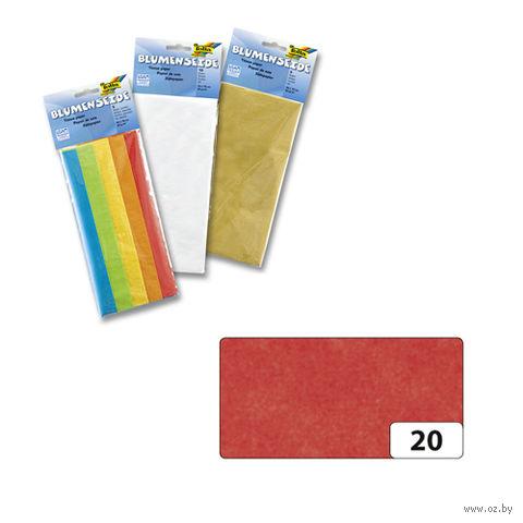 Бумага папиросная (красный; 500х700 мм; 5 листов)
