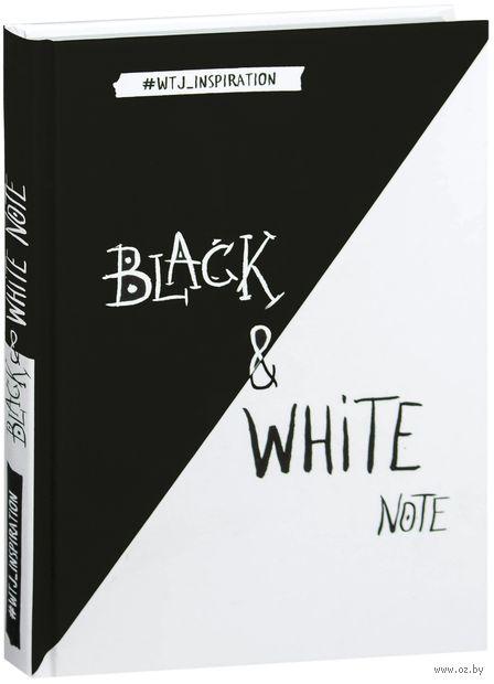 """Блокнот """"Black & White Note"""" (А5) — фото, картинка"""