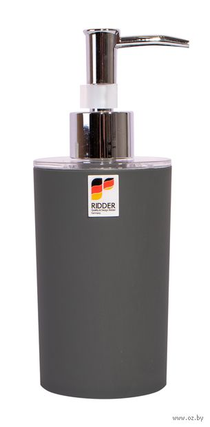 """Дозатор для жидкого мыла """"Touch"""" (340 мл; серый) — фото, картинка"""