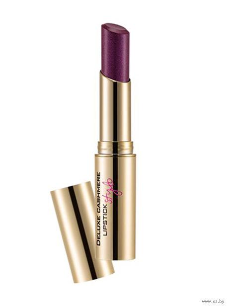 """Помада для губ """"Deluxe Cashmere Lipstick Stylo"""" (тон: 32, violet transmit) — фото, картинка"""