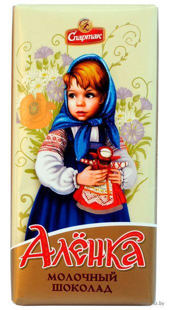Шоколад молочный Аленка 90г