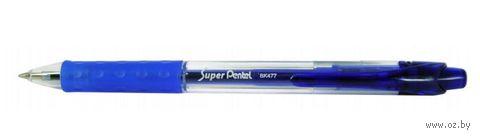 """Ручка шариковая """"Super Pentel"""" (синий)"""