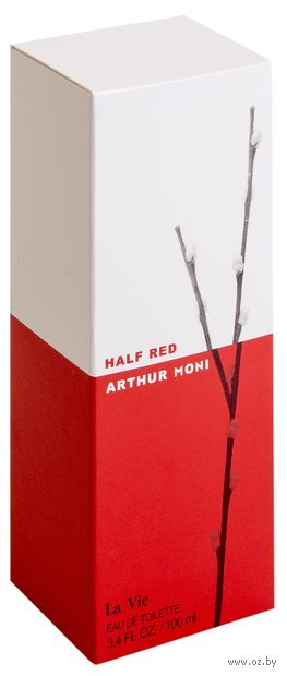 "Туалетная вода для женщин ""Arthur Moni Half Red"" (100 мл) — фото, картинка"