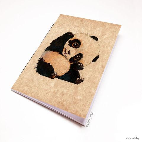 """Блокнот крафт """"Панда"""" А5 (509)"""