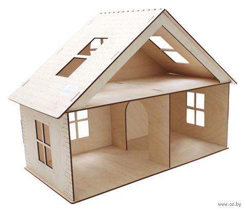 """Заготовка деревянная """"Дом с мансардой"""" (320х420х225 мм) — фото, картинка"""