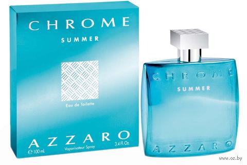 """Туалетная вода для мужчин Azzaro """"Chrome Summer"""" (100 мл)"""