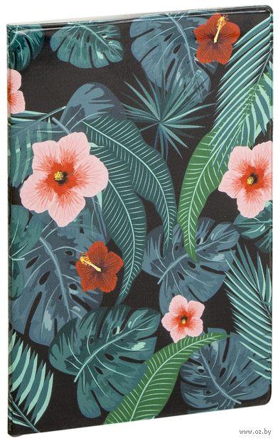 "Обложка на паспорт ""Дикие цветы"" — фото, картинка"