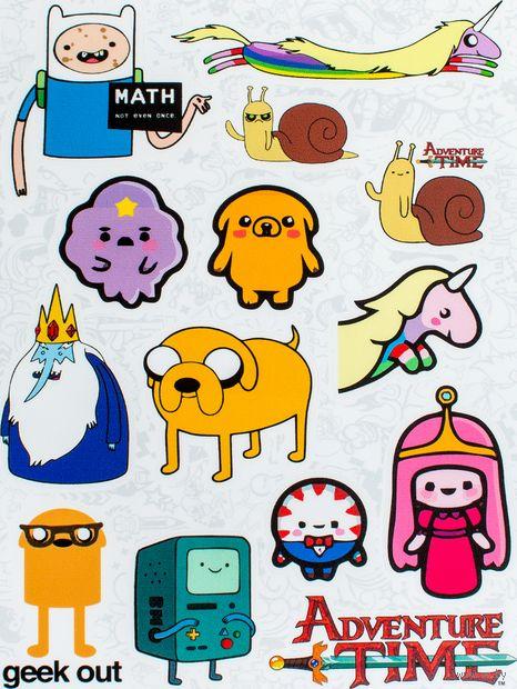 """Набор наклеек №10 """"Adventure Time"""" — фото, картинка"""