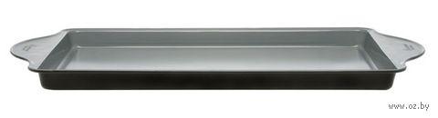 Противень для запекания металлический с керамическим покрытием (34х25х2 см)