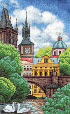 """Вышивка крестом """"Прага"""""""