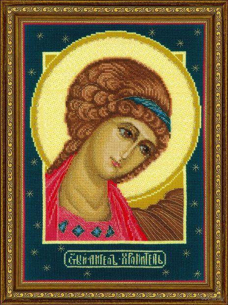 """Вышивка крестом """"Ангел Хранитель"""" (210x300 мм) — фото, картинка"""