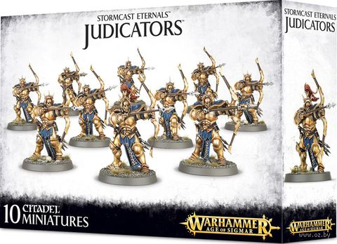 Warhammer Age of Sigmar. Stormcast Eternals. Judicators (96-11) — фото, картинка