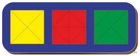 """Рамка-вкладыш """"Сложи квадрат"""" (арт. 064106) — фото, картинка"""