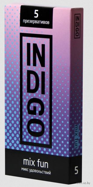 "Презервативы ""Indigo. Mix Fun"" (5 шт.) — фото, картинка"