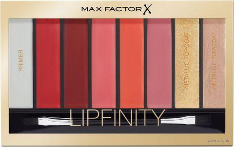 "Палетка для макияжа губ ""Lipfinity"" тон: 04, reds — фото, картинка"