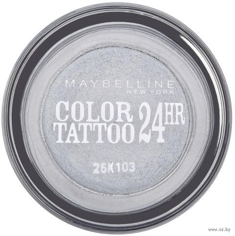 "Тени для век ""Color Tattoo 24 часа"" (тон: 50, серебристый) — фото, картинка"