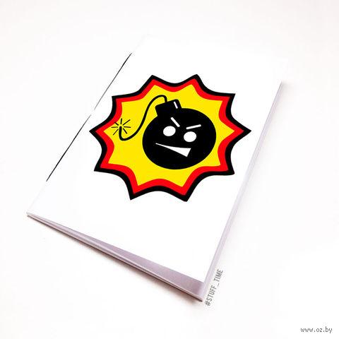 """Блокнот """"Serious Sam"""" (А5; арт. 075) — фото, картинка"""