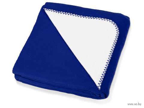 """Плед """"Ланкастер"""" (синий) — фото, картинка"""
