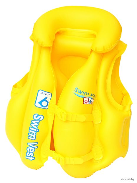 """Жилет надувной для плавания """"Swim Safe"""" (51х46 см) — фото, картинка"""