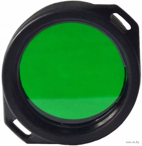 Фильтр для фонарей Armytek AF-39 (зелёный) — фото, картинка