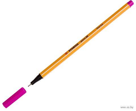 """Ручка капиллярная """"Point 88"""" (розовая; 0,4 мм)"""