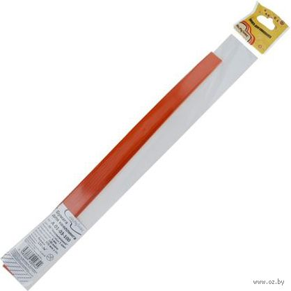 Бумага для квиллинга (325х5 мм; апельсиновый; 100 шт.) — фото, картинка