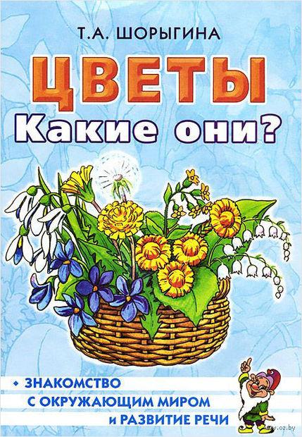 Цветы. Какие они?. Татьяна Шорыгина