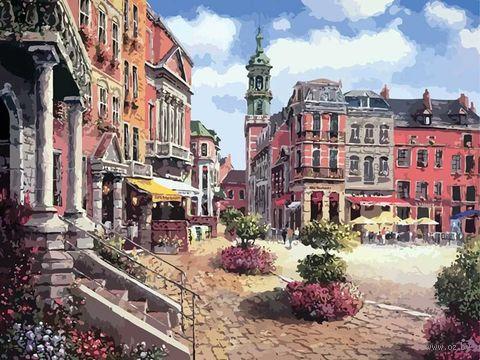 """Картина по номерам """"Шарлеруа. Бельгия"""" (400х500 мм)"""