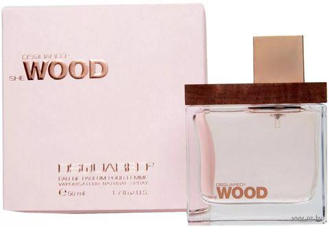 "Парфюмерная вода для женщин ""She Wood"" (50 мл) — фото, картинка"