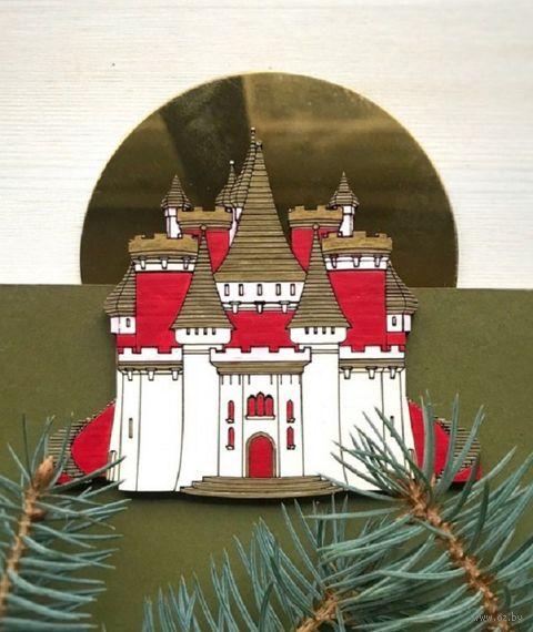 """Ёлочная игрушка """"Замок Снежной Королевы"""" (арт. 529-1) — фото, картинка"""