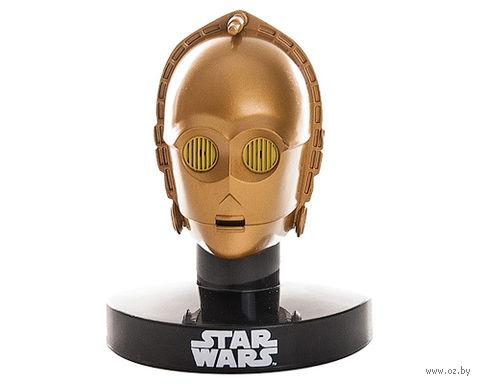 "Мини-реплика ""Звездные Войны - Голова C-3PO"" (6,5 см)"