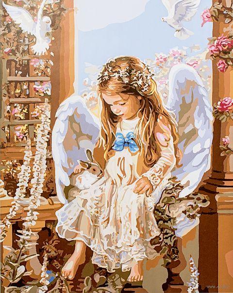 """Картина по номерам """"Юный ангел"""" (400х500 мм) — фото, картинка"""