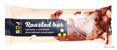 """Батончик """"Грильяж в молочном шоколаде"""" (40 г) — фото, картинка"""