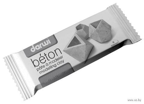 """Глина полимерная самозатвердевающая """"Darwi Beton"""" (серый; 1000 г) — фото, картинка"""