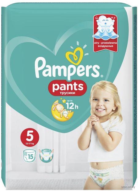 """Подгузники-трусики """"Pants Junior"""" (12-17 кг; 15 шт.) — фото, картинка"""