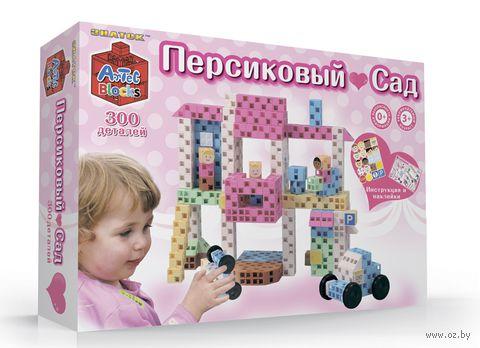 """Конструктор """"Персиковый сад"""" (300 элементов)"""