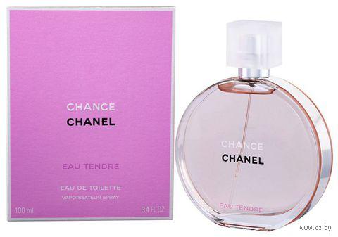 """Туалетная вода для женщин Chanel """"Chance eau Tendre"""" (100 мл) — фото, картинка"""