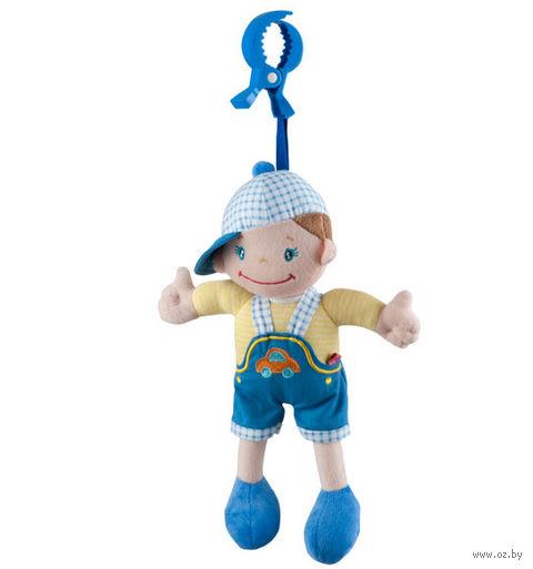 """Игрушка-подвеска """"Мальчик в кепке"""""""