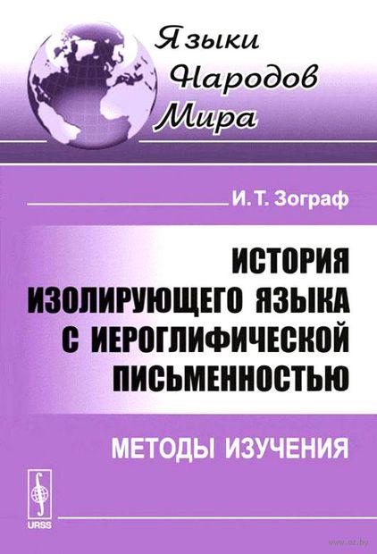 История изолирующего языка с иероглифической письменностью: Методы изучения — фото, картинка