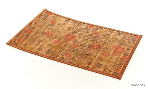 Подставка сервировочная бамбуковая окрашенная (30*45 см, арт. 4900025)