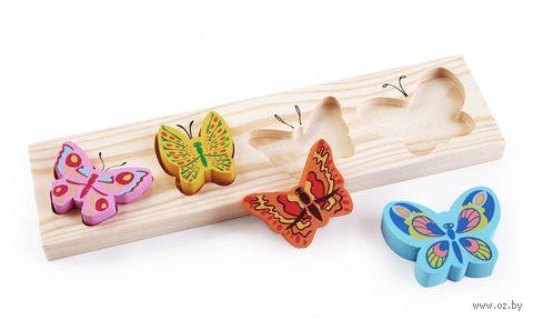 """Рамка-вкладыш """"Бабочки. Цветные"""" — фото, картинка"""