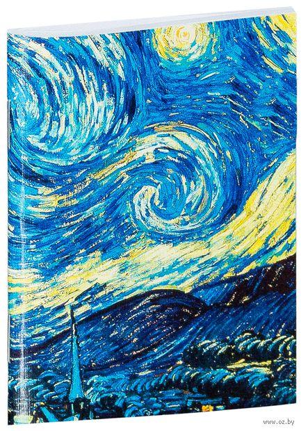 """Блокнот """"Ван Гог. Звездная ночь"""" (А7; арт. 387) — фото, картинка"""