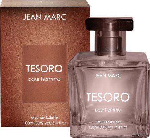 """Туалетная вода для мужчин """"Tesoro"""" (100 мл) — фото, картинка"""